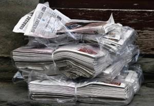 vieux papier journal