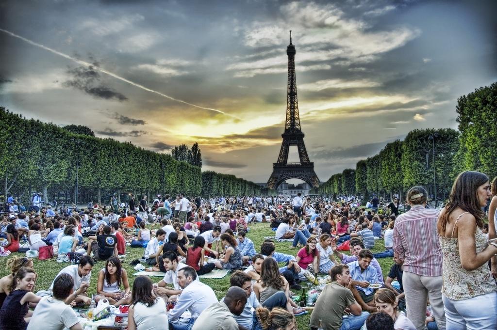 Le drame de l 39 alcool dans les pique niques parisiens - Lieux de pique nique en ile de france ...