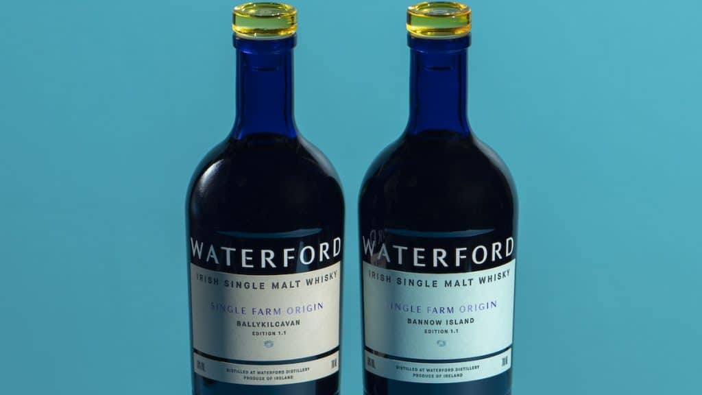 Duo de bouteilles Waterford
