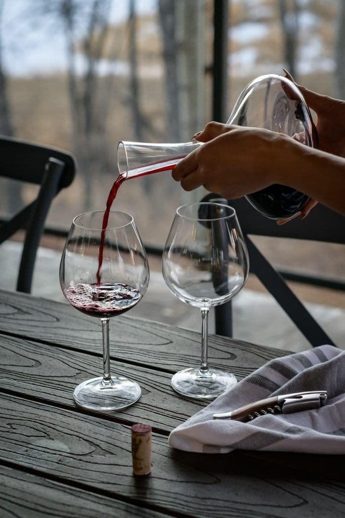 chambrer-vin-rouge-temperature